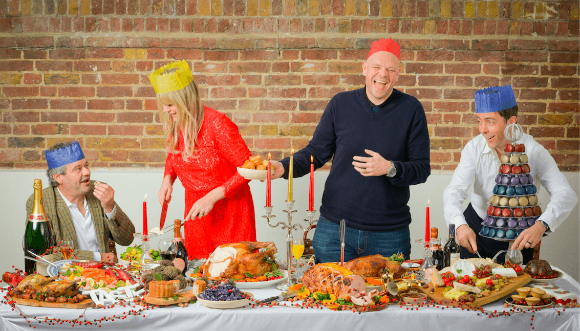 Mark Hix, Sophie Michell, Tom Kerridge, Pascal Aussignac celebrate Taste of London with the ultimate festive feast.03